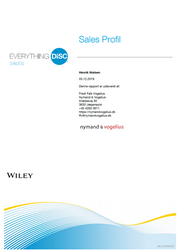 Everything DiSC® Sales profilen